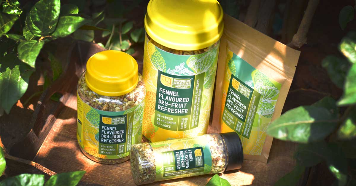 Funnel Favoured Dry Fruit Health Refresher Carousal