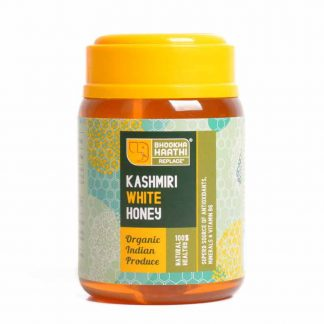 Kashmiri White Honey 325gm Front View