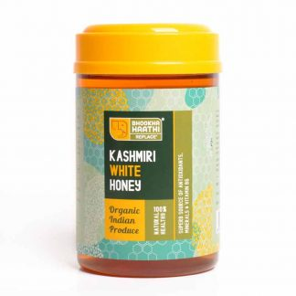Kashmiri White Honey 600gm Front View