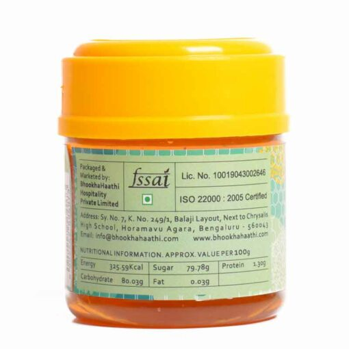 Kashmiri White Saffron Honey 150gm Nutritional Information View