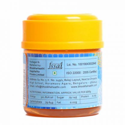 Premium Saffron Honey 150gm Nutritional Information View