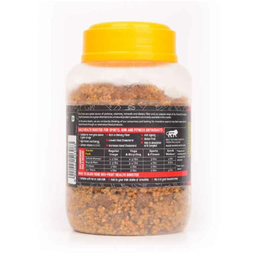 Health Boosters 250gm Nutritional Information View