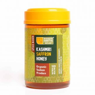 Kashmiri Saffron Honey 600gm Front View
