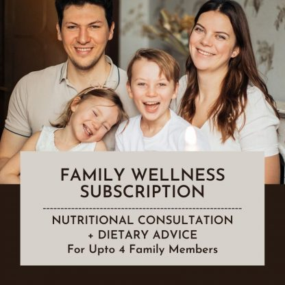 Family Wellness Subscription Standard Product Image